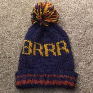 """Steve Madden Knit """"Brrr"""" Beanie"""
